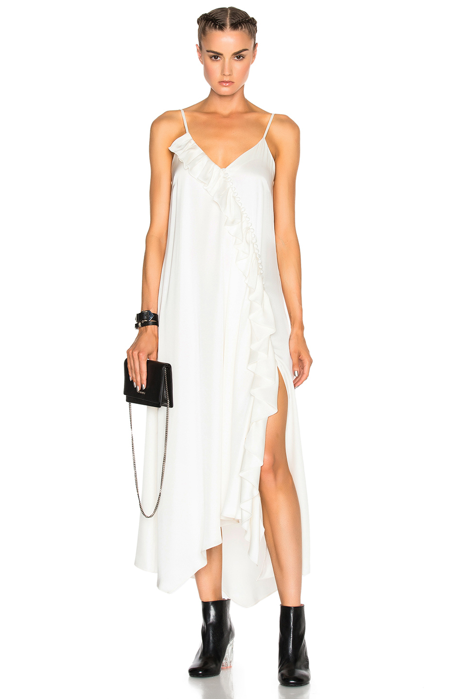 Magda Butrym for FWRD Treviso Dress in White