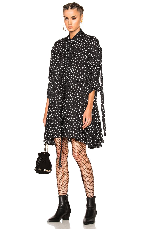 Magda Butrym Nicosia Dress in Black,Floral