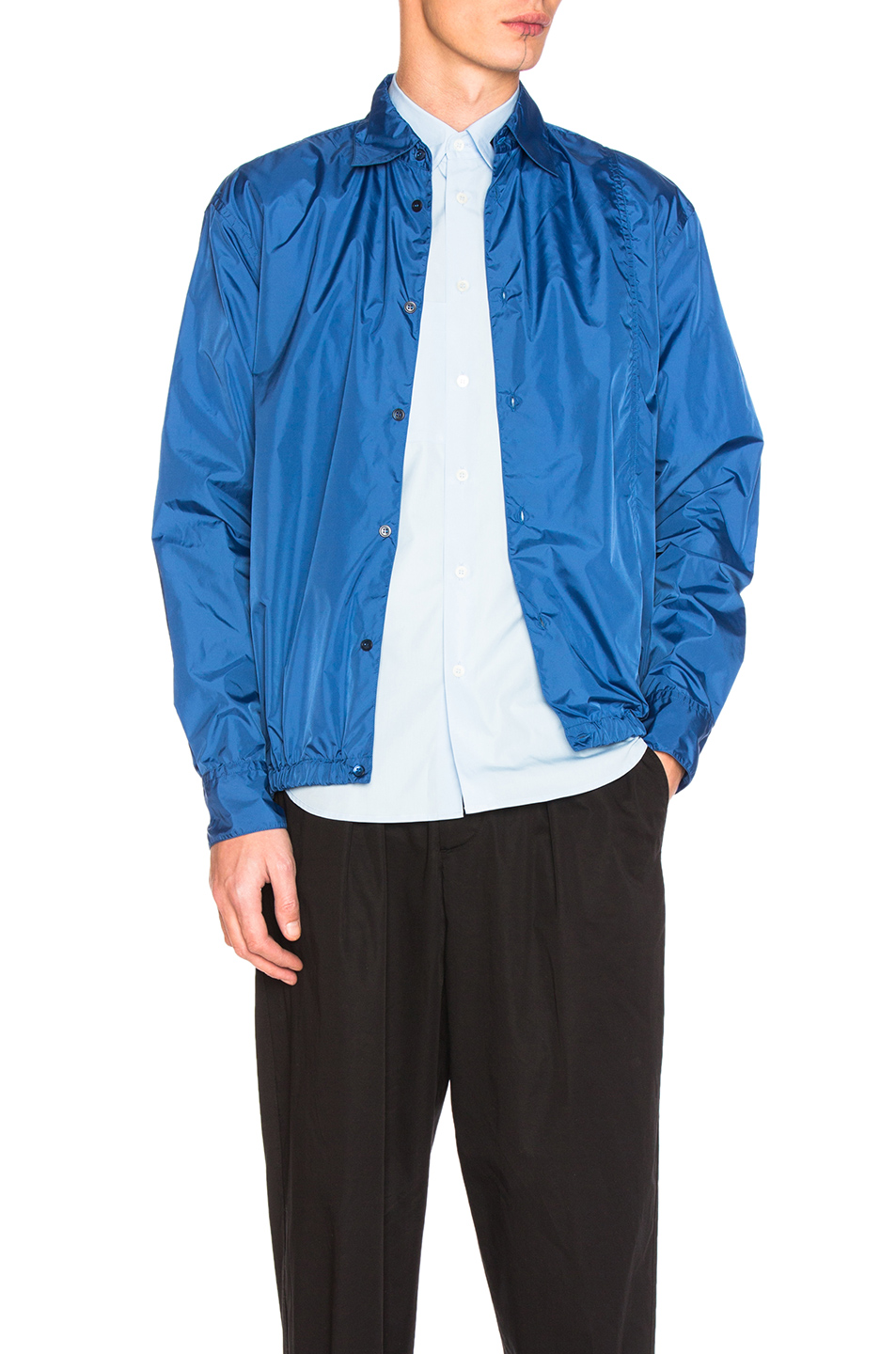 Marni Waterproof Nylon Jacket in Blue