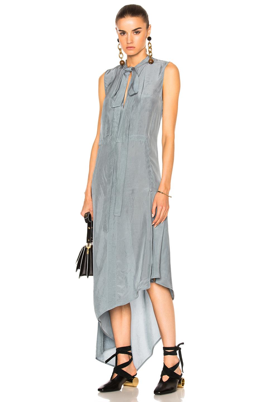 Marni Sleeveless Dress in Blue