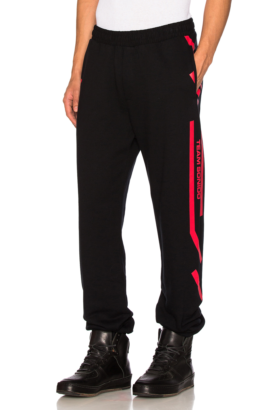 Marcelo Burlon Platon Pant in Black