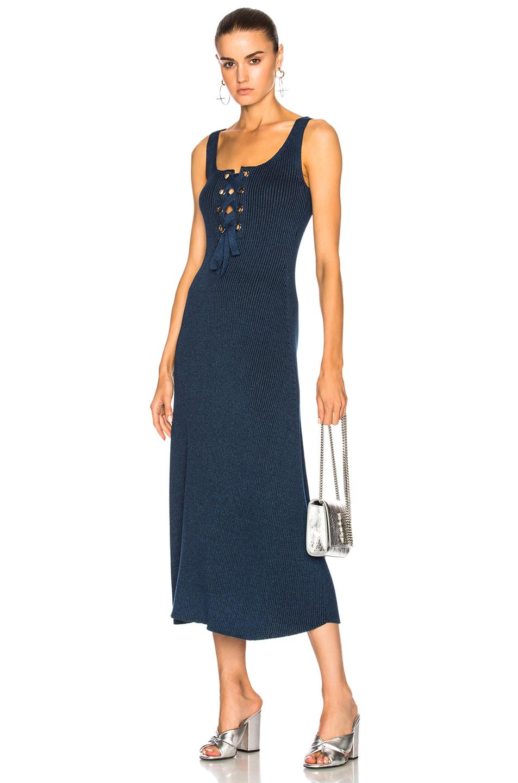 Mara Hoffman Lena Dress in Blue