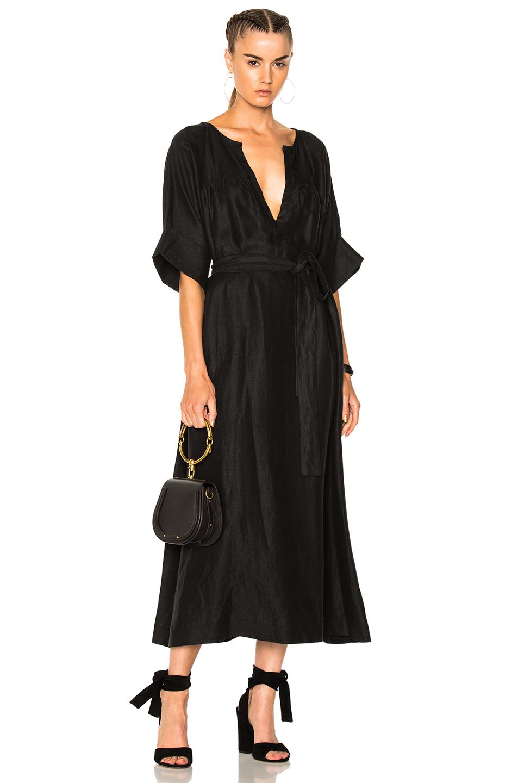 Mara Hoffman Harriet Dress in Black
