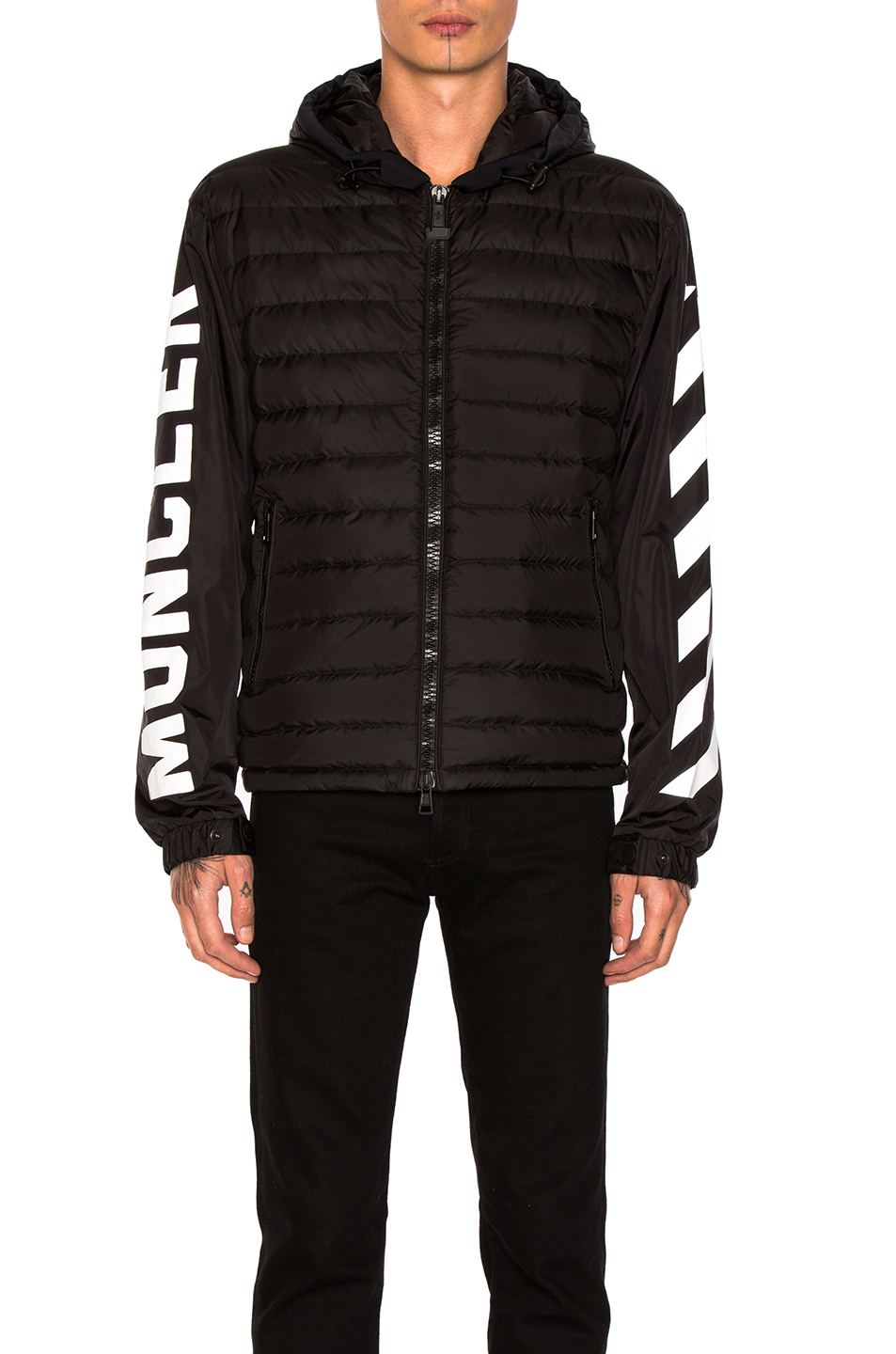 Moncler x Off White Jacket in Black