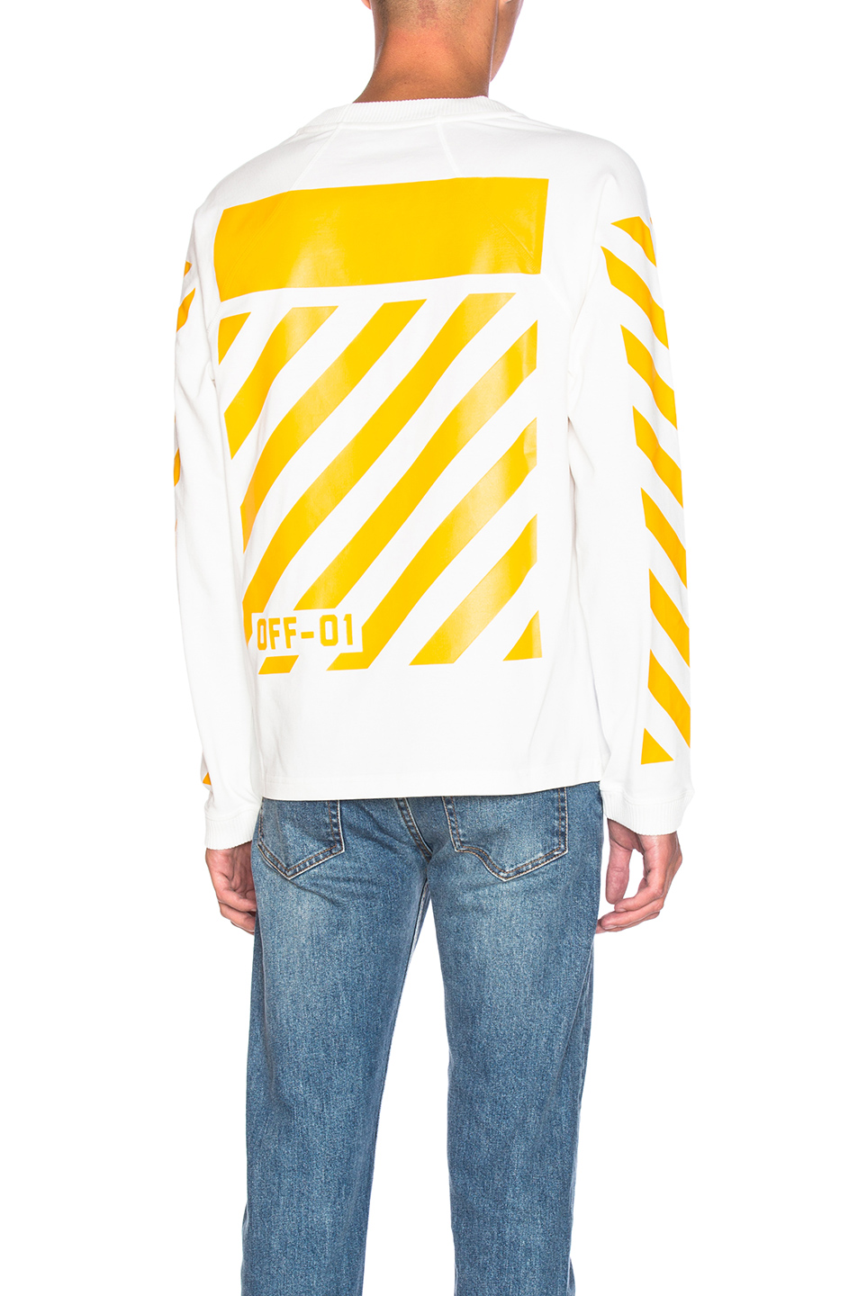 Moncler x Off White Long Sleeve Tee in White