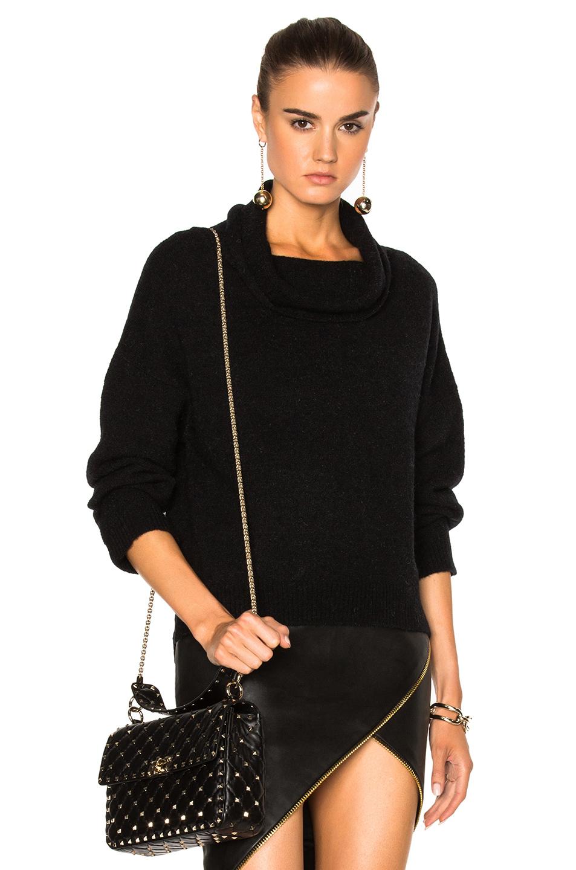 Michelle Mason Turtleneck Sweater in Black