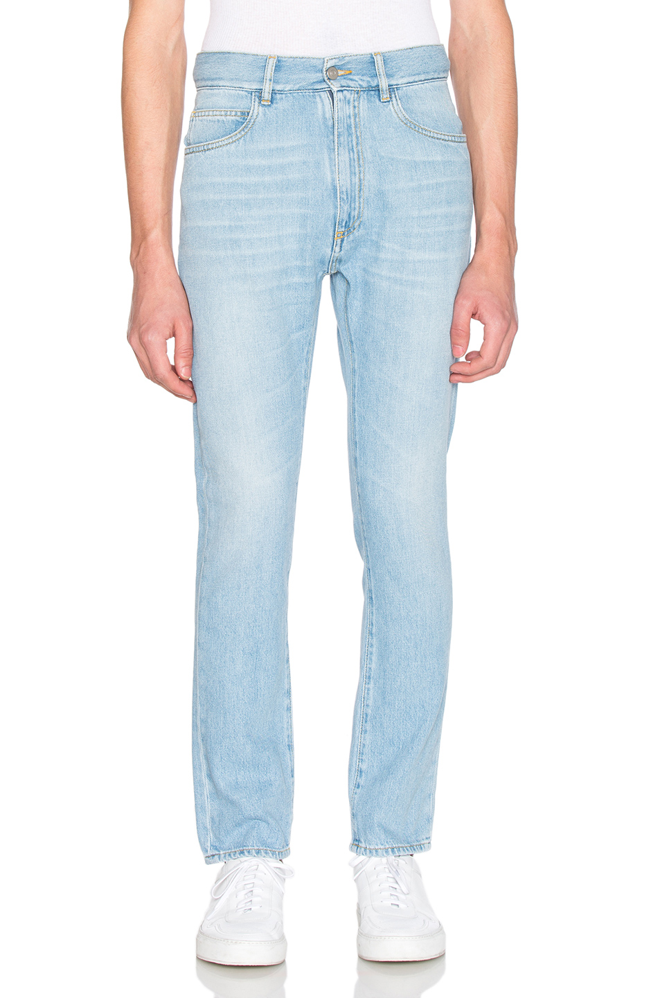 Maison Margiela Vintage Extra Cropped Jeans in Blue