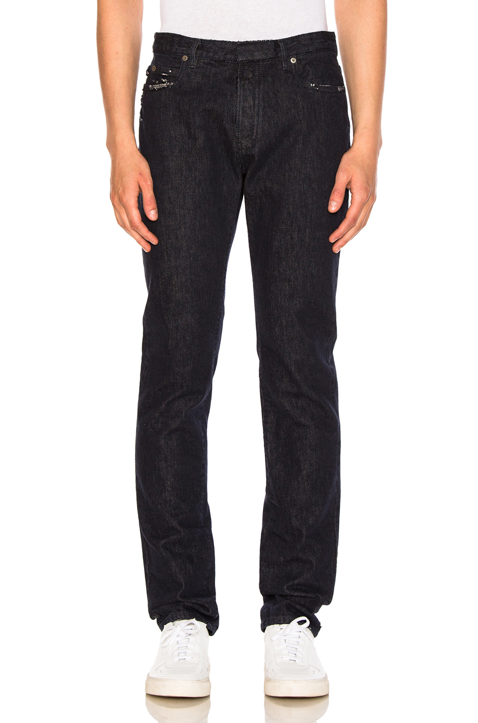 Maison Margiela Slim Fit Jeans in Blue