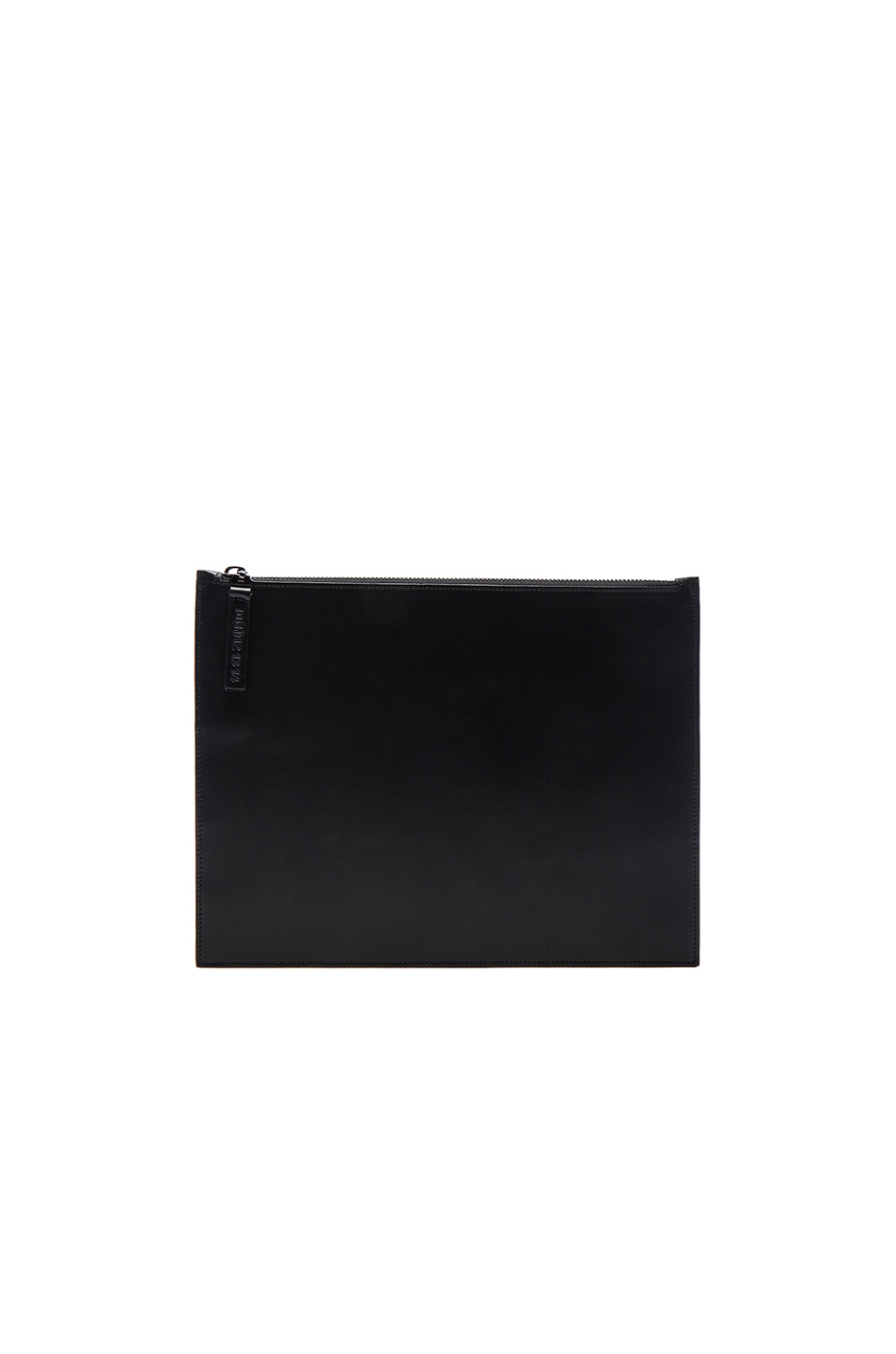 Maison Margiela Calf Leather Pouch in Black