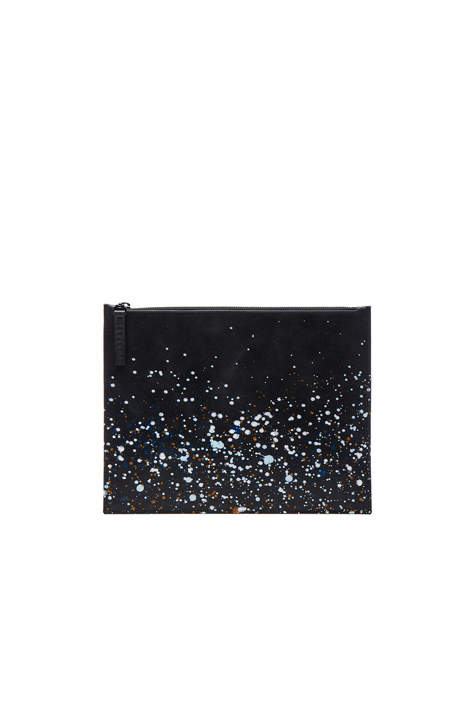 Maison Margiela Pollock Effect Pouch in Black