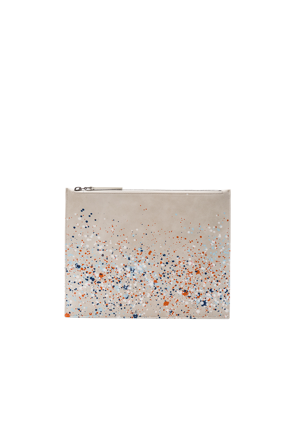 Maison Margiela Pollock Effect Pouch in Gray