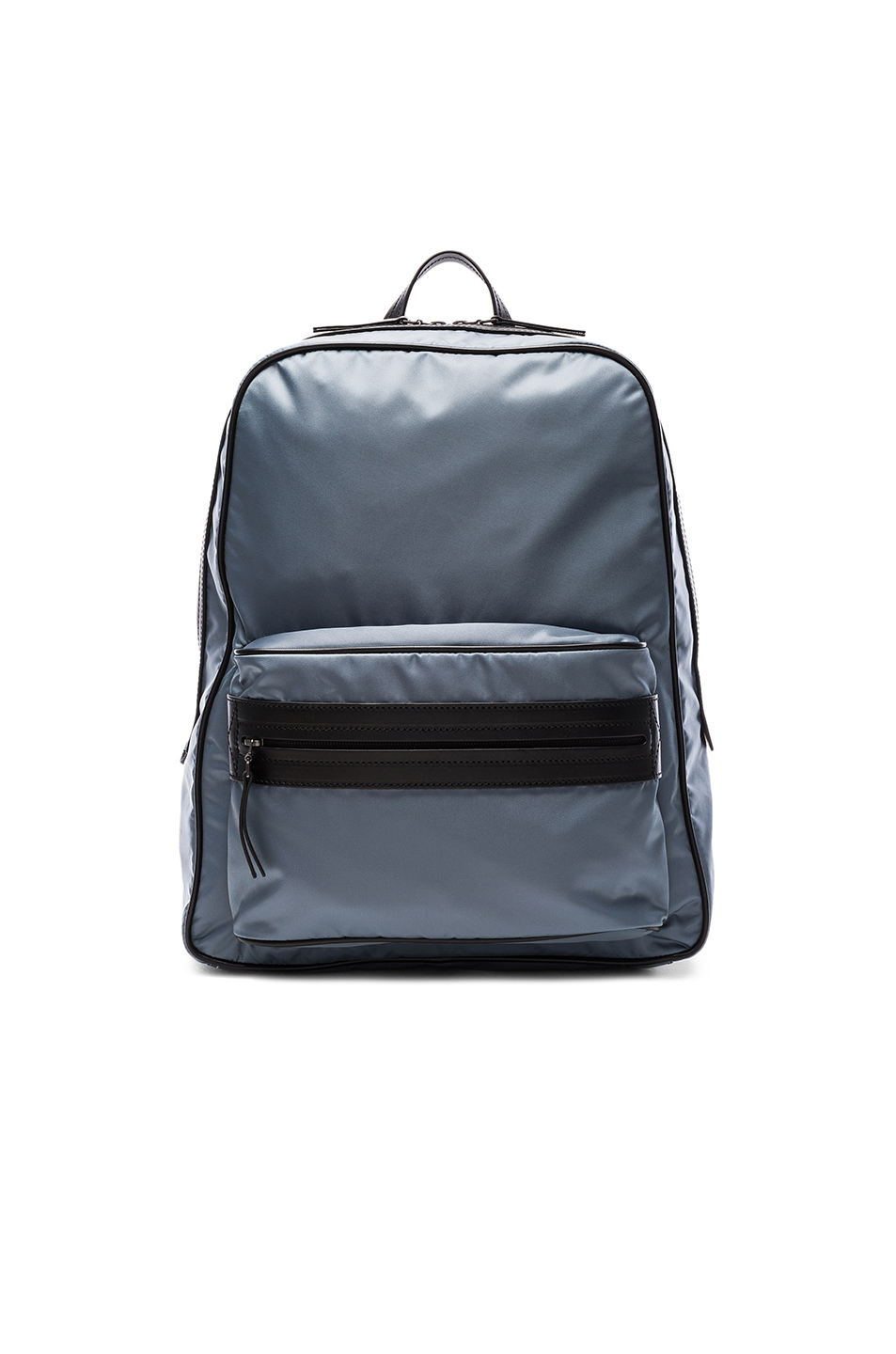 Maison Margiela Zip Backpack in Blue