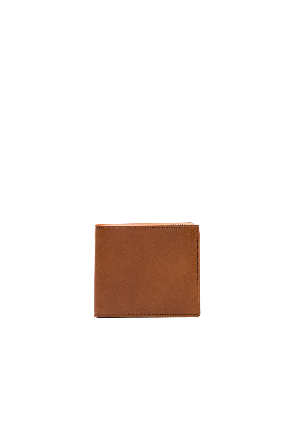 Maison Margiela Calf Leather Billfold Wallet in Brown