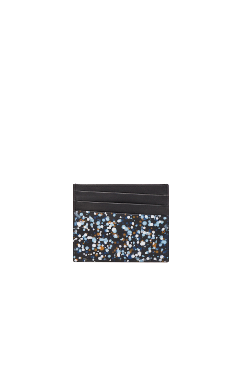 Photo of Maison Margiela Pollock Effect Cardholder in Black - shop Maison Margiela menswear