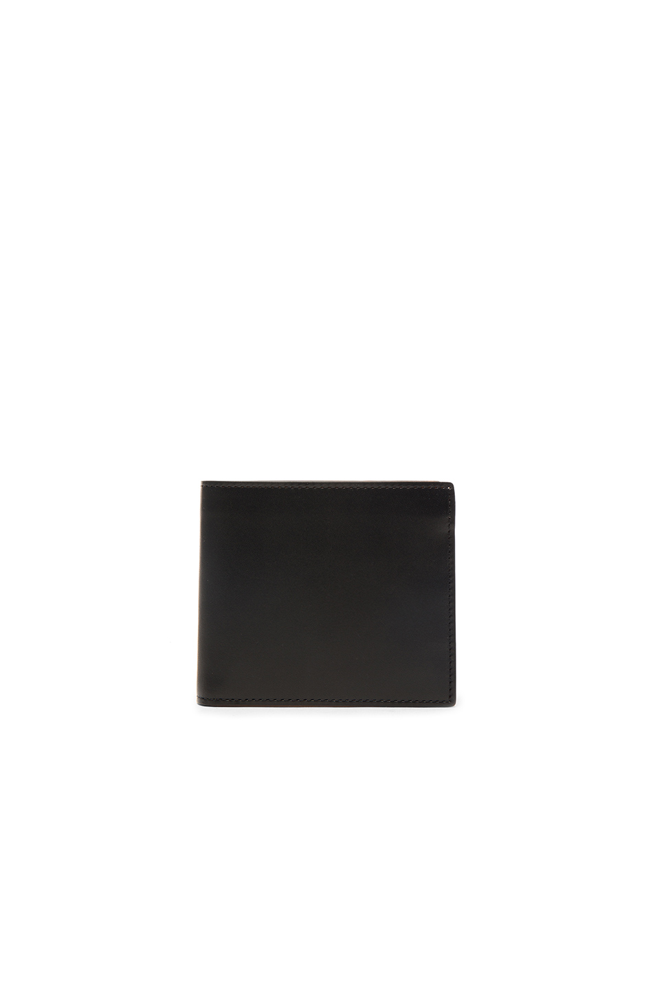 Maison Margiela Calf Leather Billfold Wallet in Black