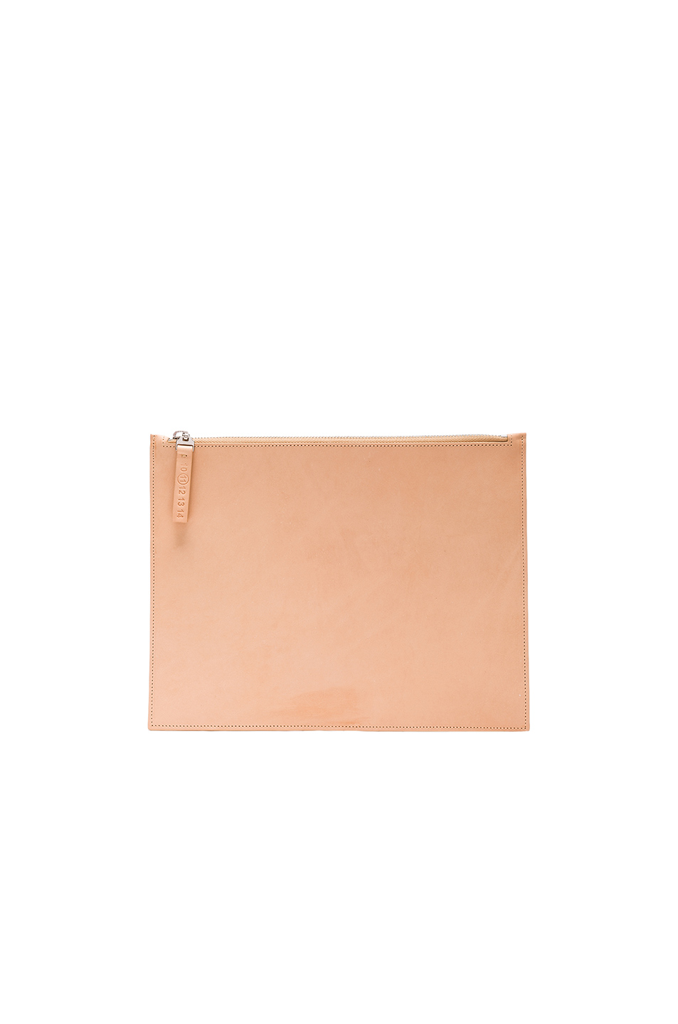 Maison Margiela Leather Pouch in Neutrals