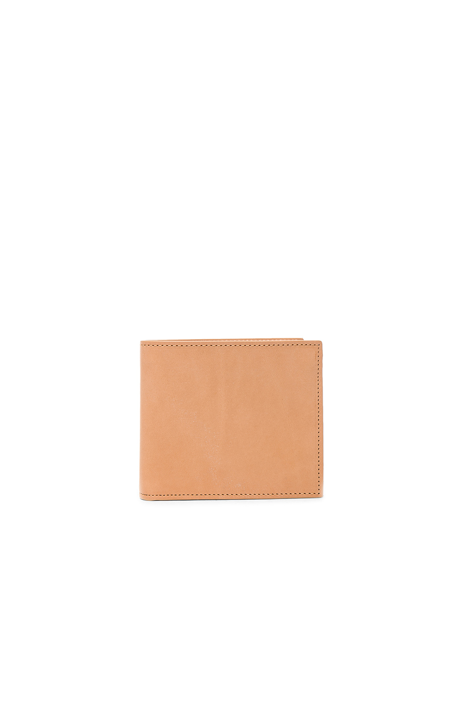 Maison Margiela Leather Flap Wallet in Neutrals