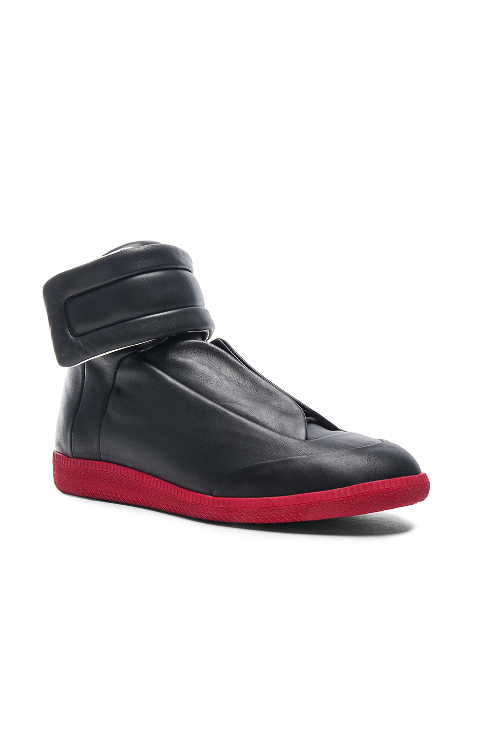 Maison Margiela Calfskin Future High Tops in Black