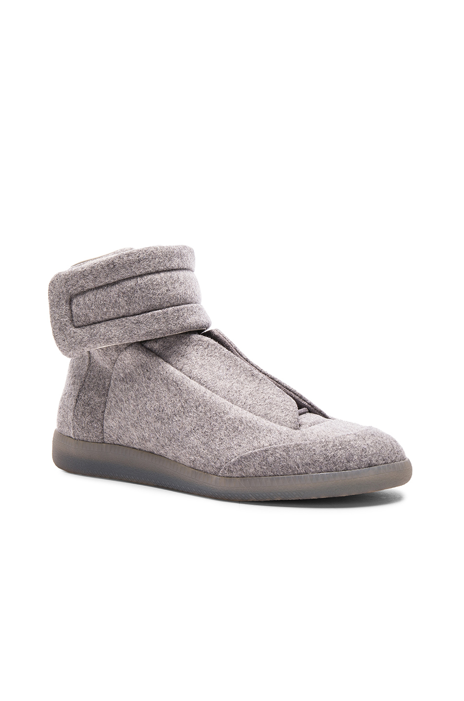 Maison Margiela Future High Tops in Gray