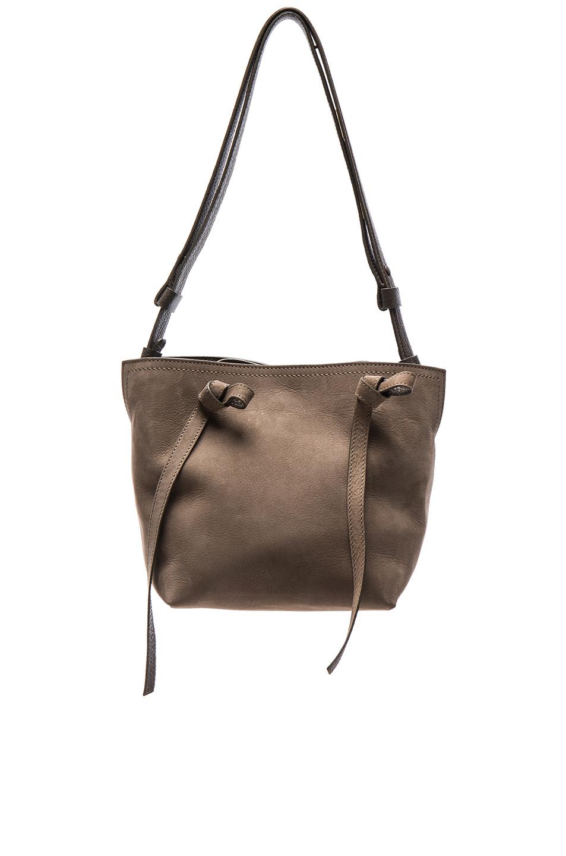 Maison Margiela Suede Shoulder Bag in Gray