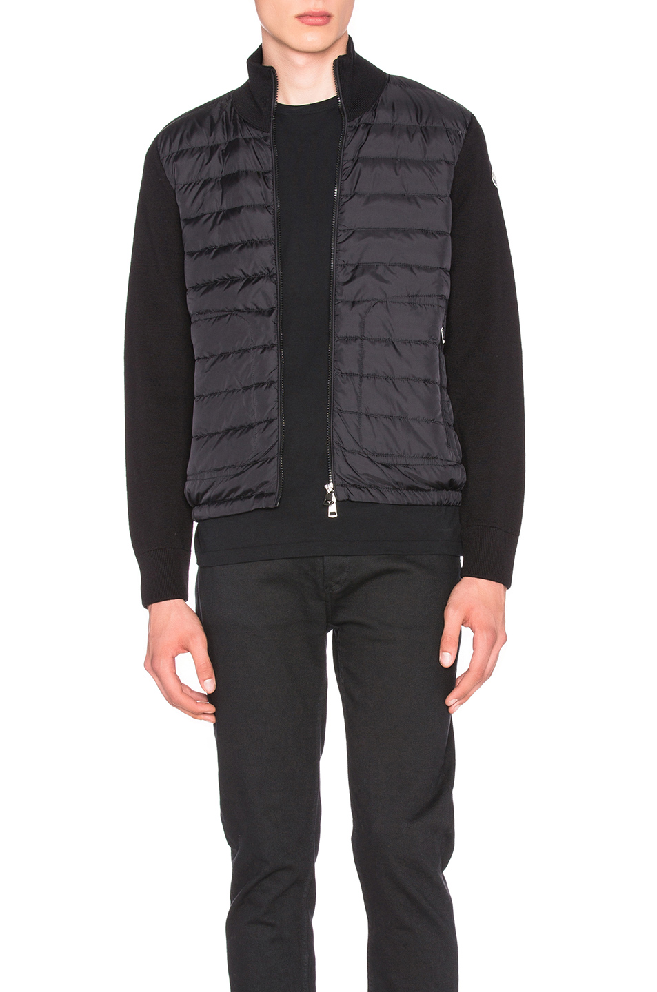 MONCLER Cardigan Sweater in Black