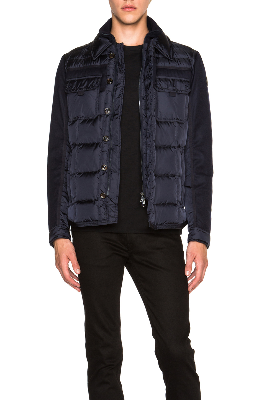 MONCLER Blais Jacket in Blue
