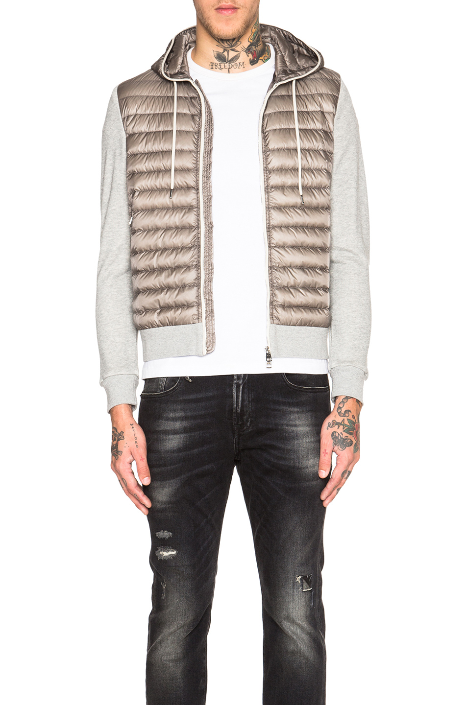 MONCLER Maglia Cardigan Jacket in Gray