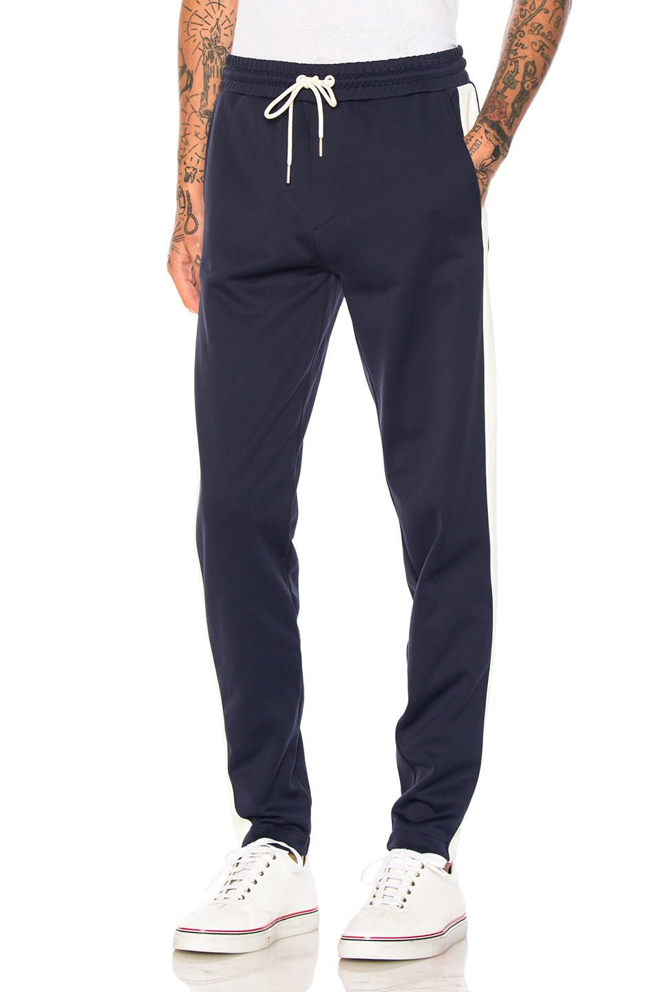 Moncler Track Pants in Blue