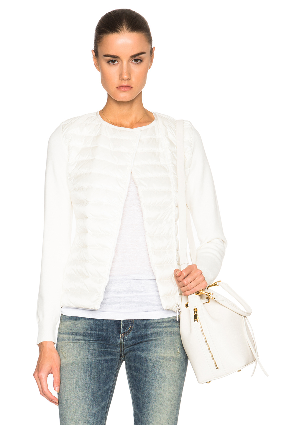 MONCLER Maglia Knit in White