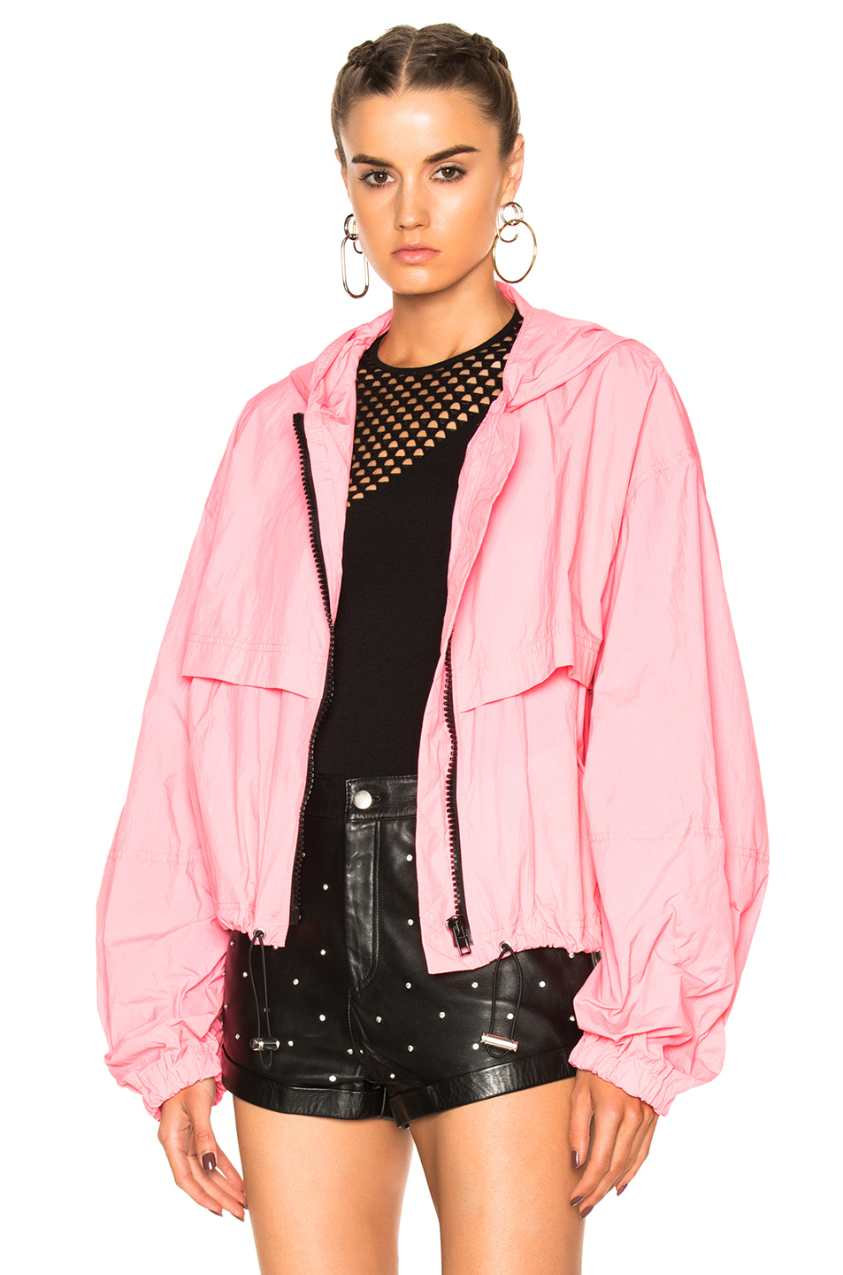 MSGM Puffer Jacket in Pink