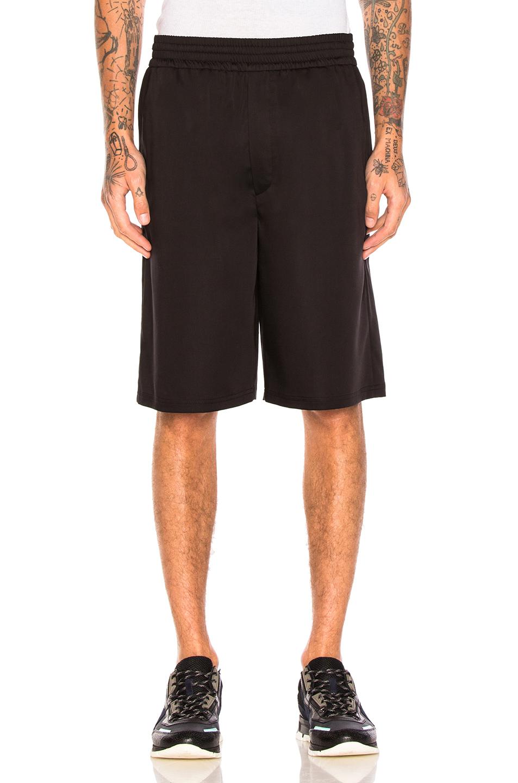Neil Barrett Slouch Shorts in Black
