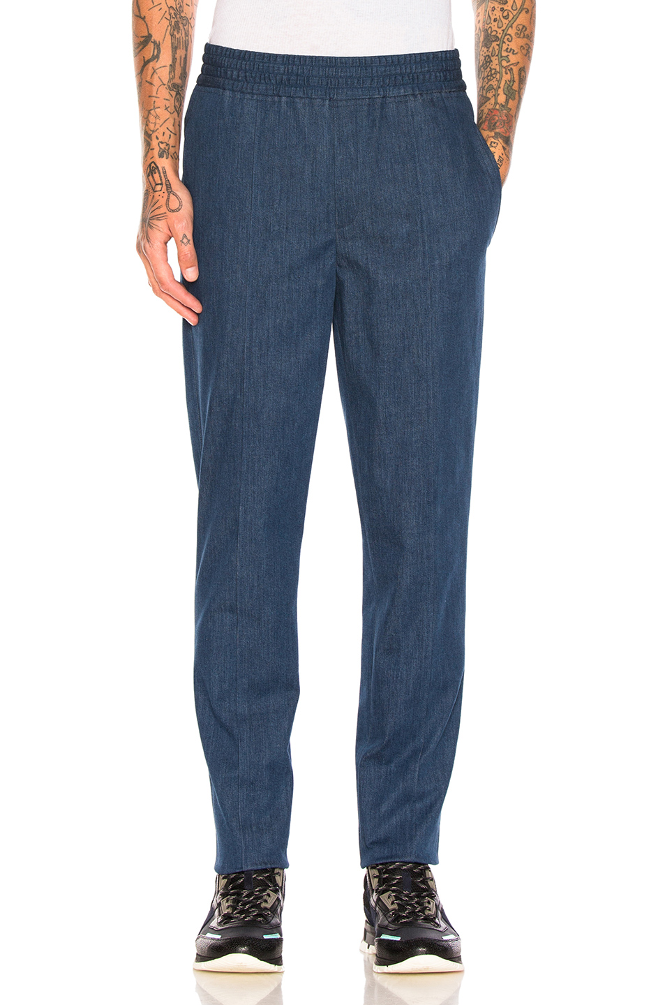 Neil Barrett Authentic Denim Trousers in Blue