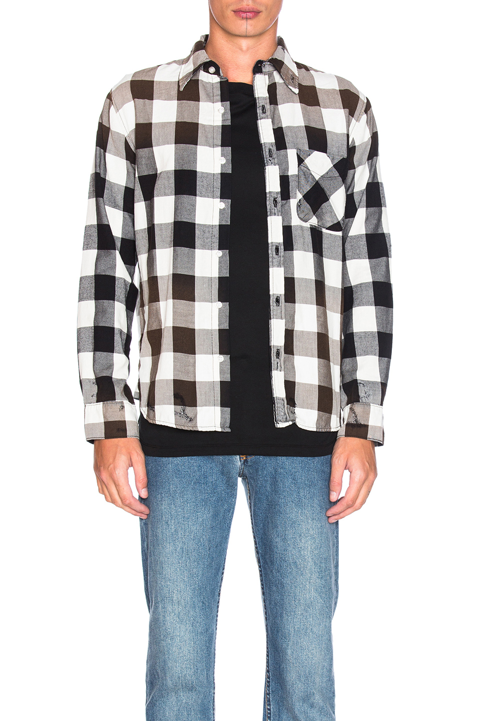 NSF Axel Shirt in Checkered & Plaid