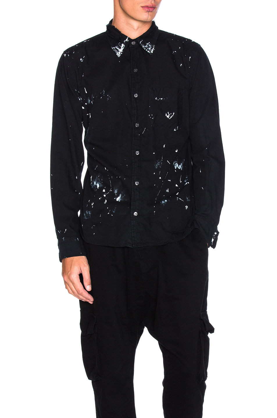 NSF Axel Shirt in Black