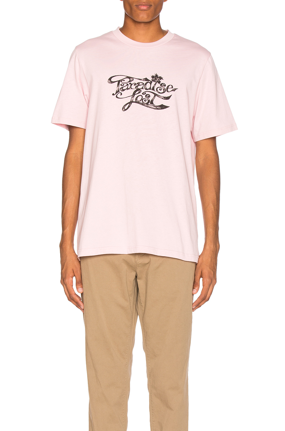 OAMC Paradise Lost Tee in Pink