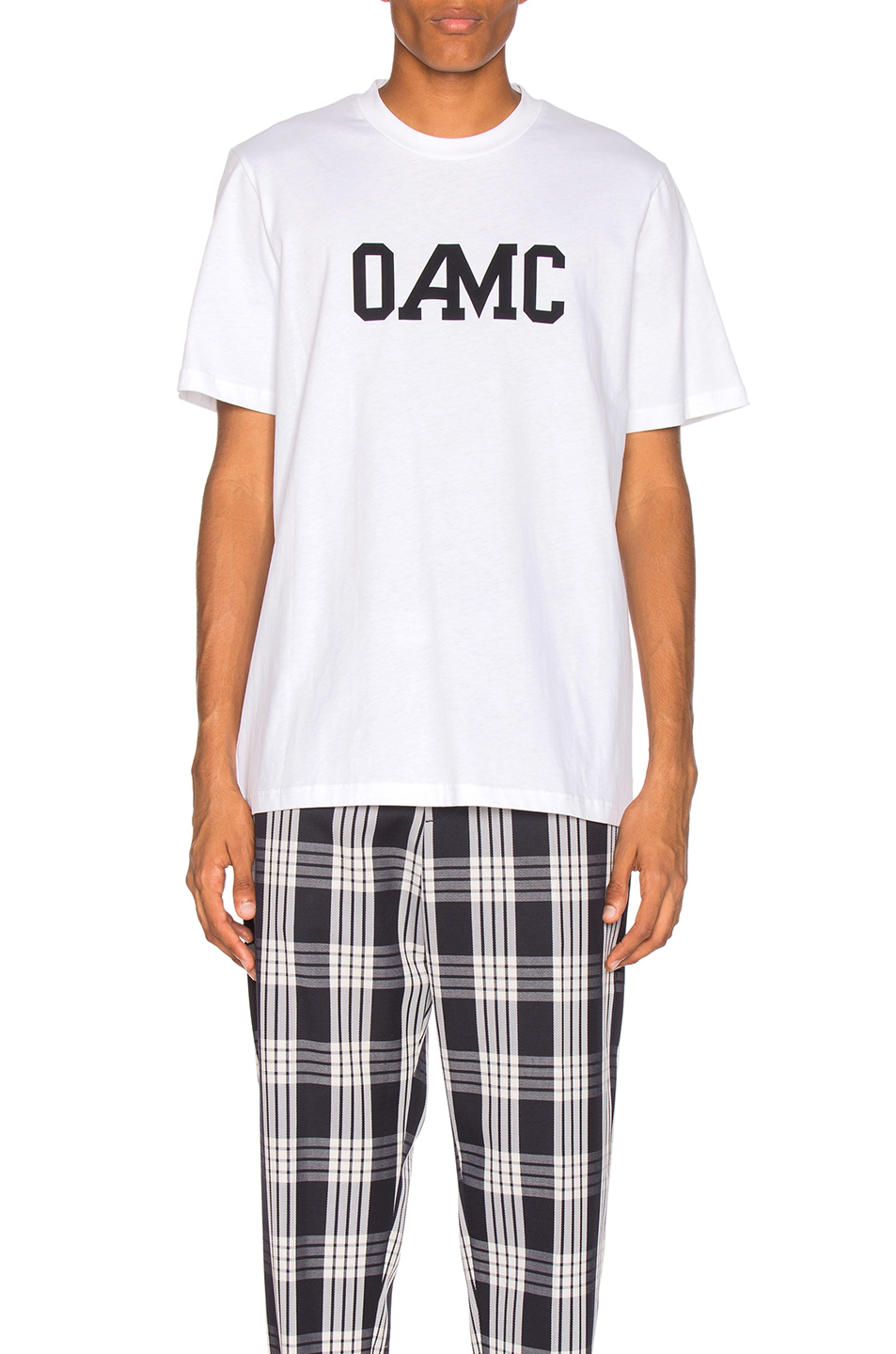 OAMC Isle Logo Tee in White
