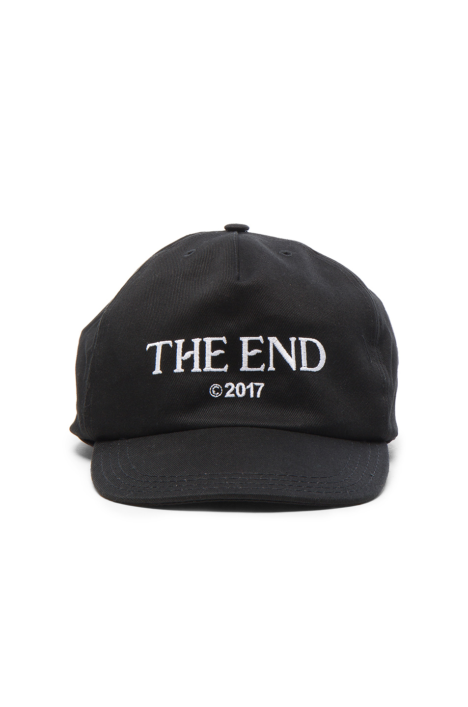 OFF-WHITE The End Cap in Black