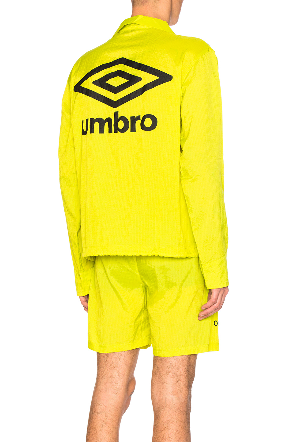 OFF-WHITE x Umbro Jacket in Green,Neon