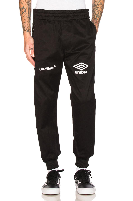 OFF-WHITE x Umbro Pants in Black