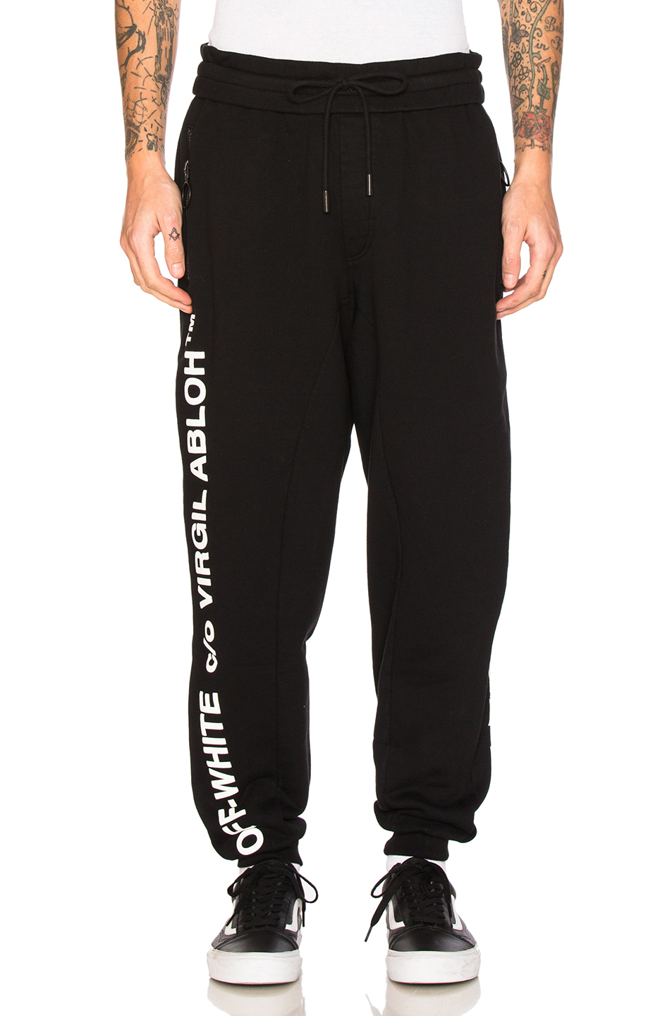 OFF-WHITE Virgil Abloh Pants in Black