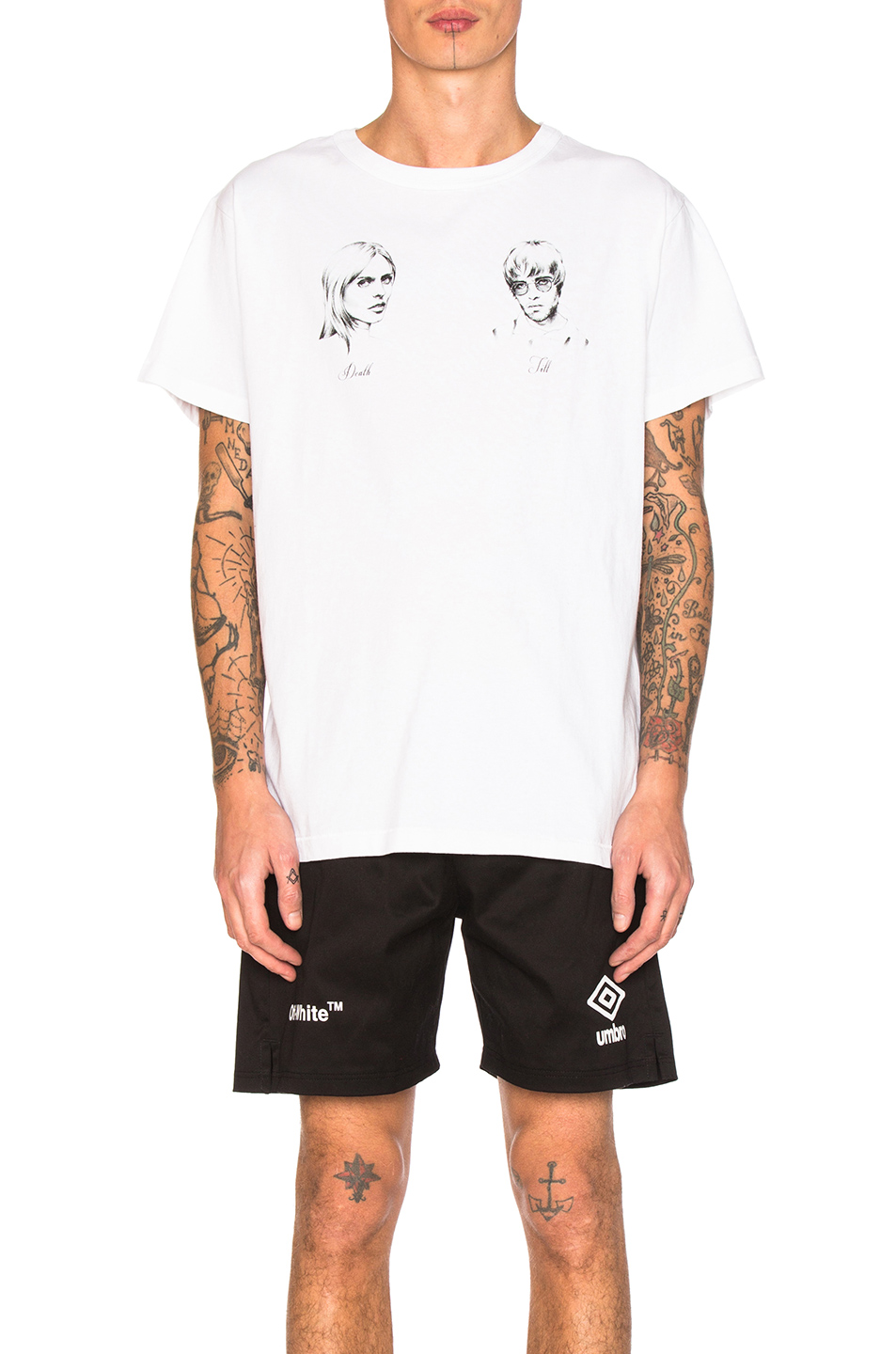 OFF-WHITE Till Death Tee in White