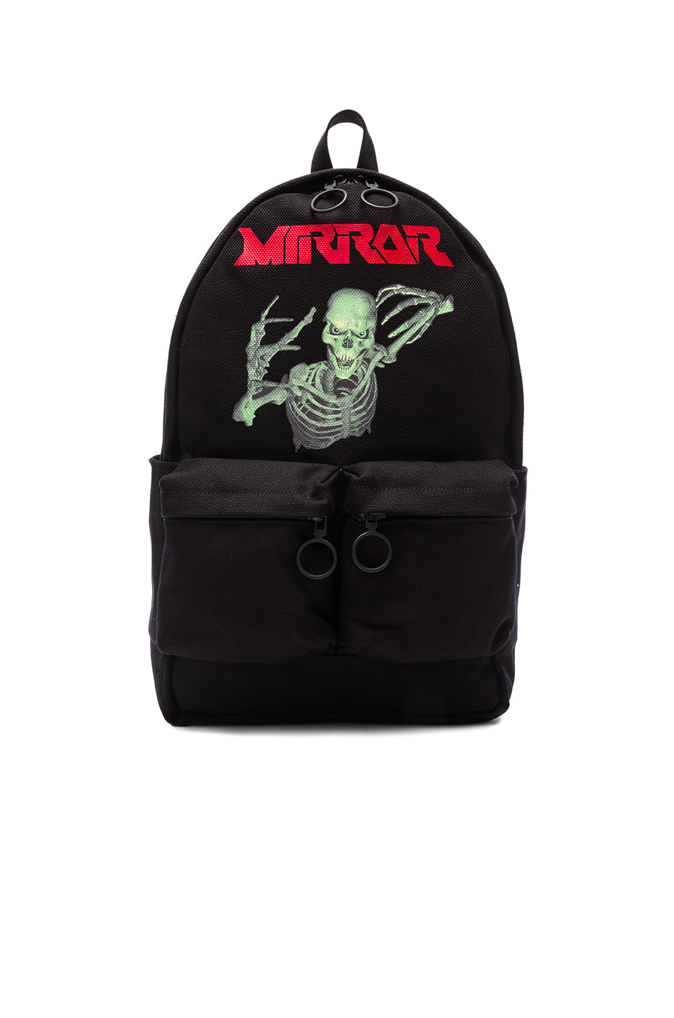 OFF-WHITE Skull Backpack in Black