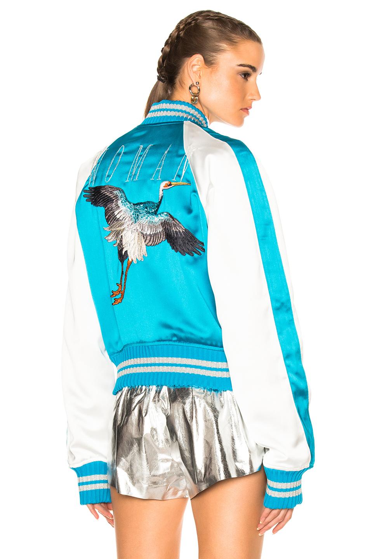 OFF-WHITE Souvenir Jacket in Blue,White