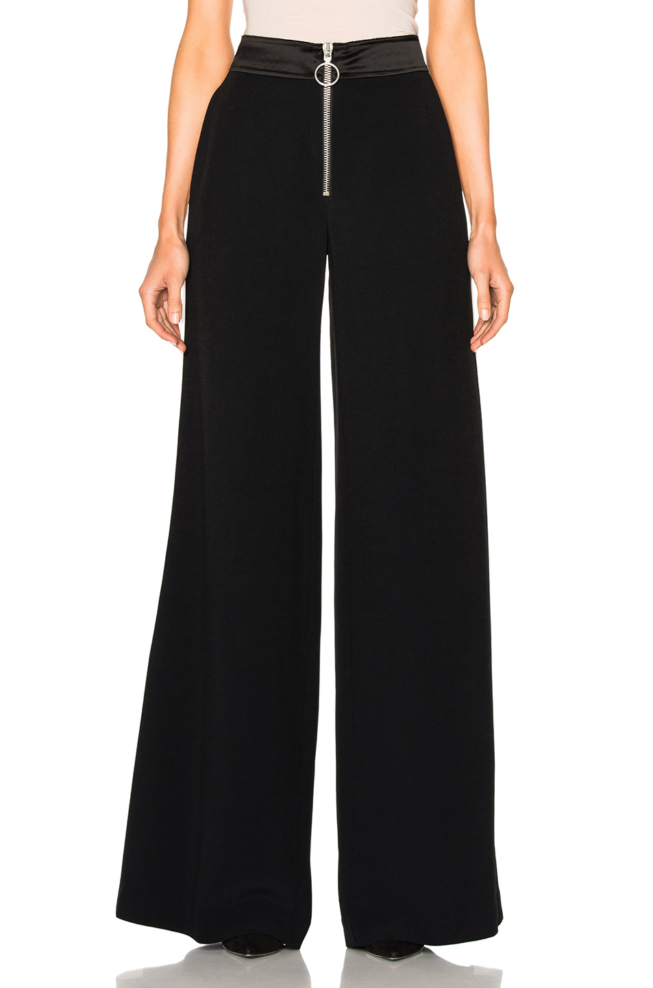 OFF-WHITE Side Band Trousers in Black
