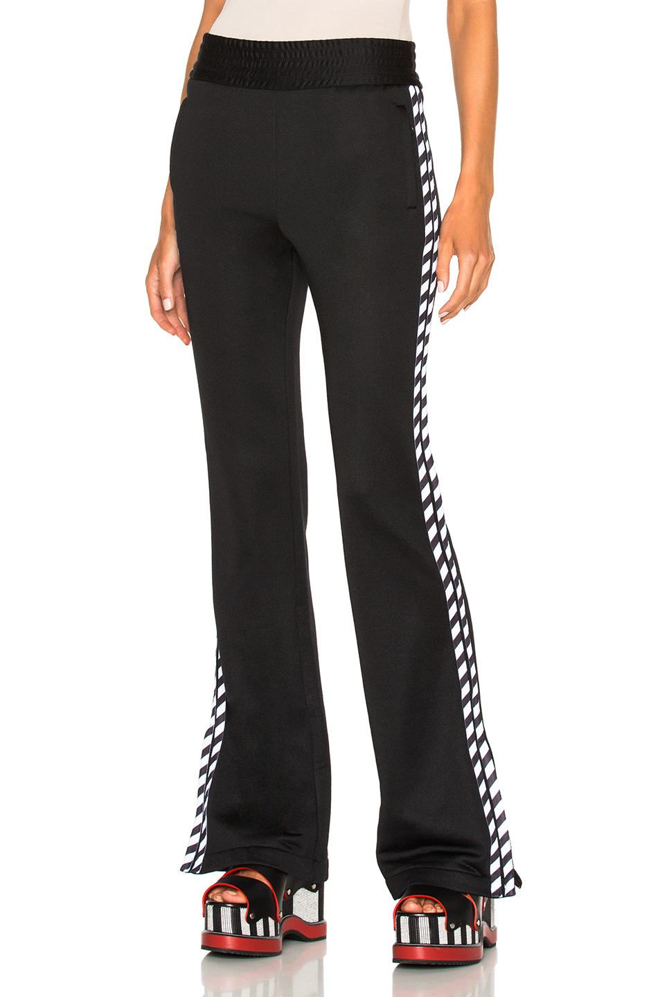 OFF-WHITE Track Pant in Black
