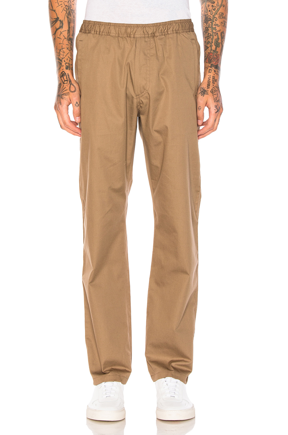 Our Legacy Fine Gabardine Trousers in Neutrals