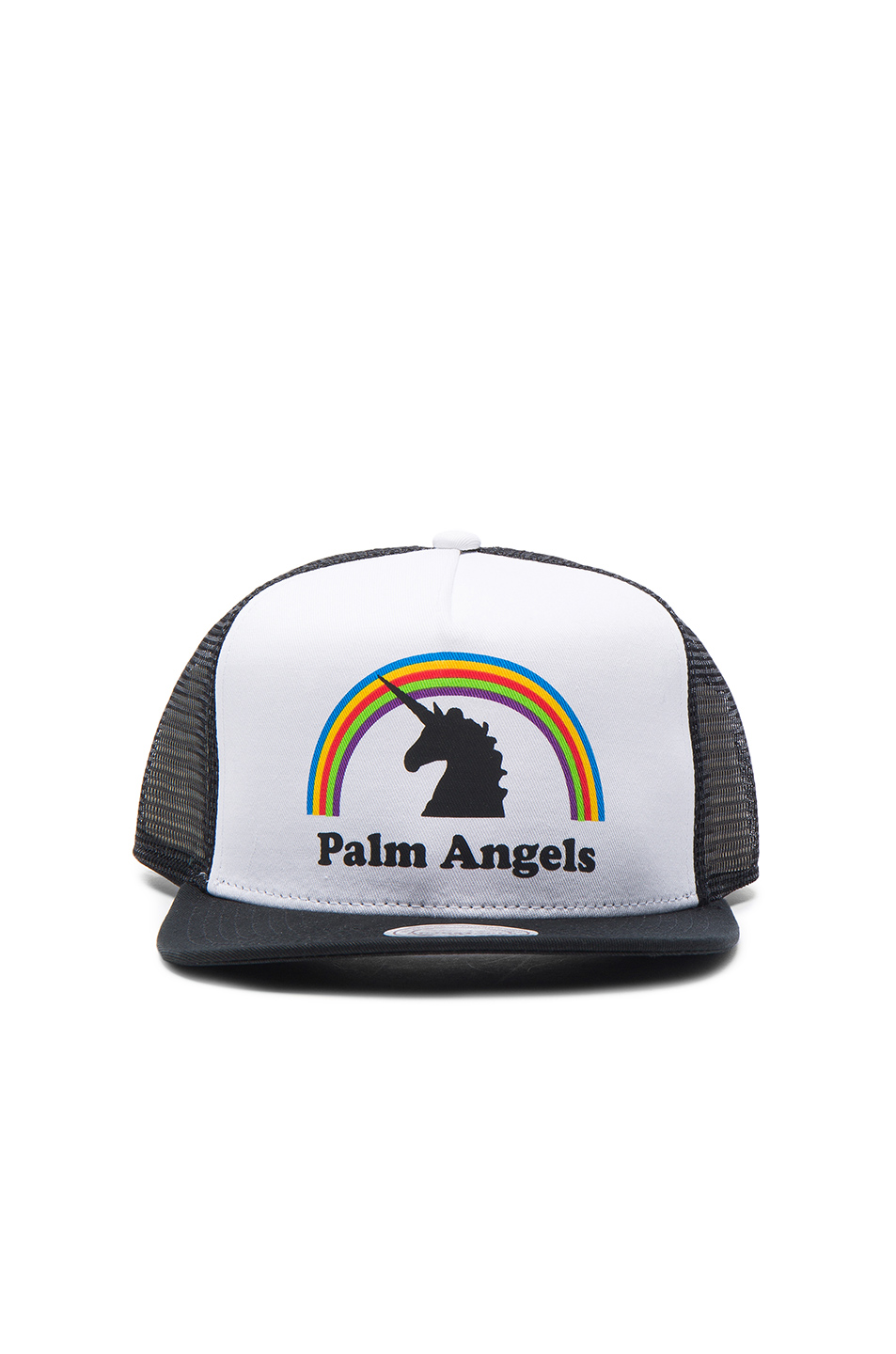 Palm Angels Unicorns Do Exist Cap in Black,White