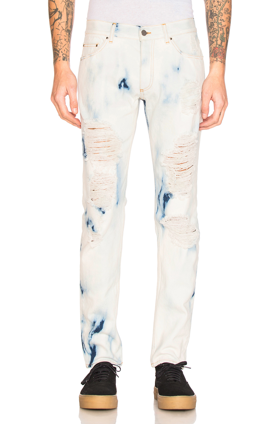 Palm Angels Skinny in Blue,Ombre & Tie Dye