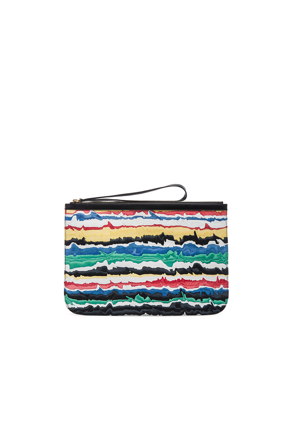 Pierre Hardy Alpha Pouch in Black,Abstract