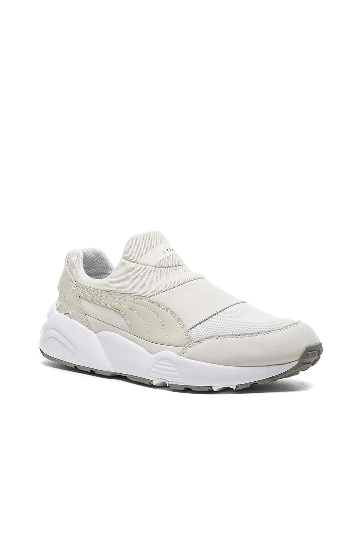 Photo of Puma Select x Stampd Trinomic Sock in White - shop Puma Select menswear